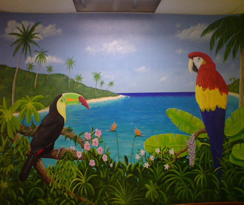 Wall Murals Home Wall Murals Hand Painted Oil Wall Murals Custom